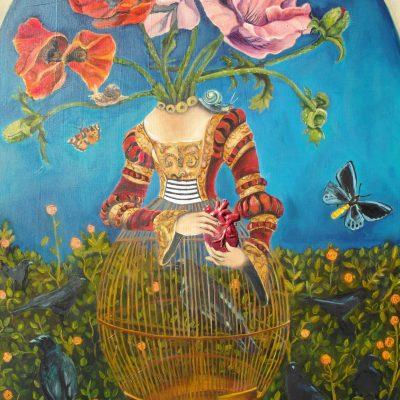 Karen Garden Heart Painting